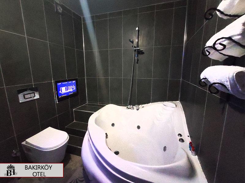 Bakırköy otel   Jakuzili oda