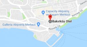 Bakırköy otel konum